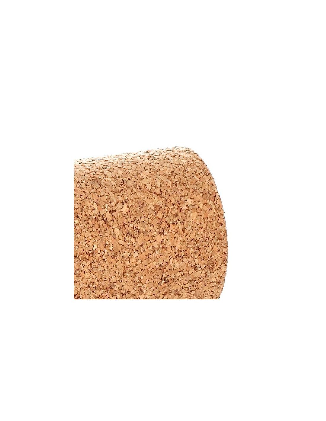 Rollo aislante termico simple detalle del rollo de corcho - Corcho aislante termico ...
