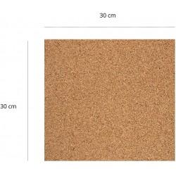 Corcho Adhesivo de 5 mm de 30 x 60 cm (3 unidades)